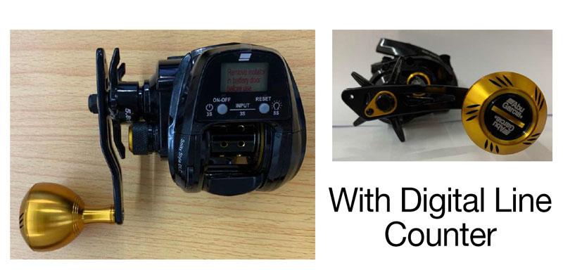 abu garcia digital reel, abu garcia digital line counter reel, abu garcia digital low profile reel