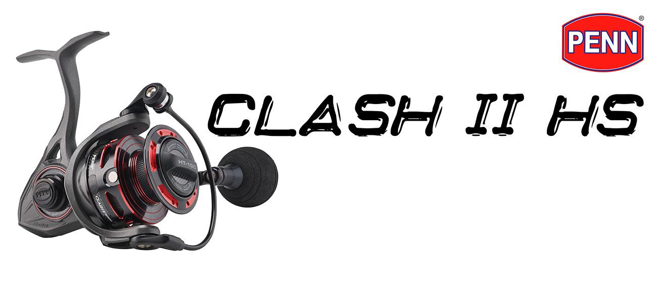 penn clash 2 hs, penn clash 2 hs review, penn clash 2 reels, penn clash 2 reel review