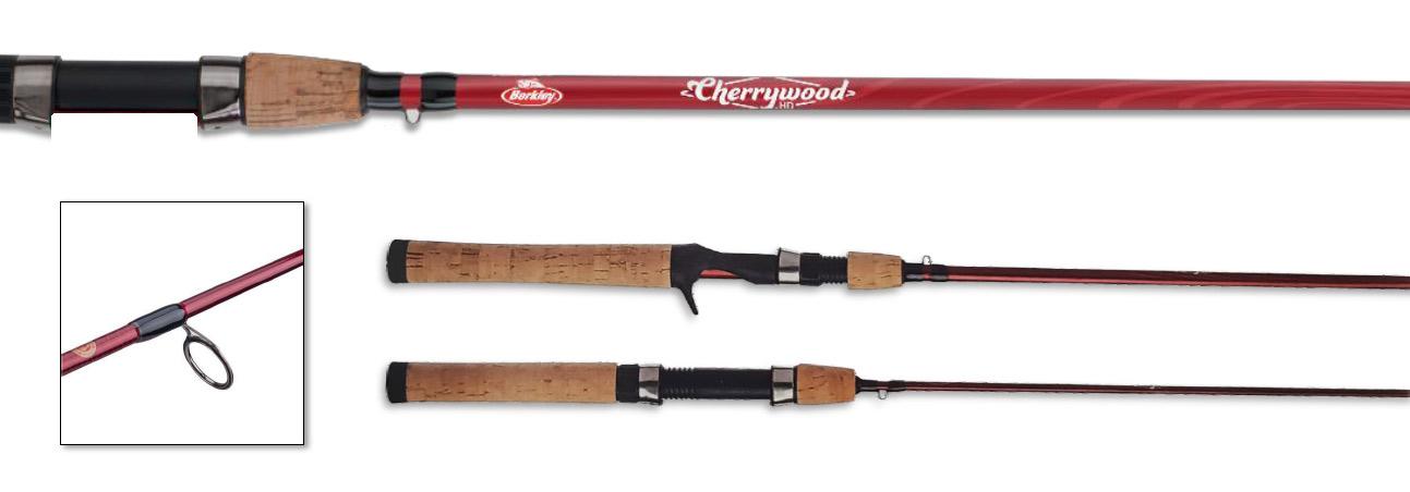 Berkley Cherrywood HD rod, berkley rods