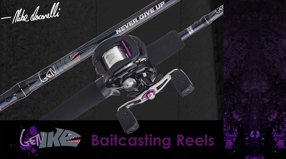 Abu garcia Gen Ike, Gen ike, gen ike rods, gen ike reels, abu garcia gen ike rod combos, abu garcia gen ike rods and reels